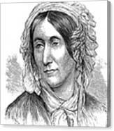 Mary Somerville, Scottish Polymath Canvas Print