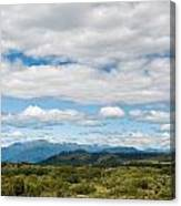 Massive Cloudy Sky Above The Wilderness Canvas Print