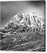Meall Dearg Mountain At Glencoe Scotland Canvas Print