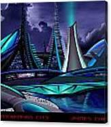 Meraparis City Canvas Print