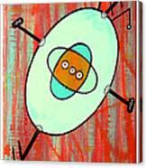 Microcosmic Gizmo Canvas Print
