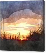 Mild Morning II Canvas Print