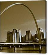 Millenium Bridge Canvas Print