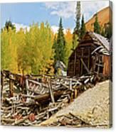 Mining Ruins Canvas Print