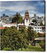Mission Dolores Park Canvas Print