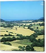 Mixed Farmland Canvas Print