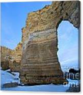 Monument Rocks Arch Canvas Print