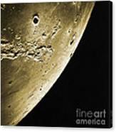 Moon, Apollo 16 Mission Canvas Print