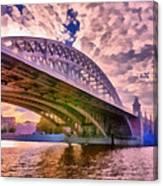 Moscow's Bridges Canvas Print
