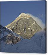 Mount Everest Standing At 29,028 Feet Canvas Print