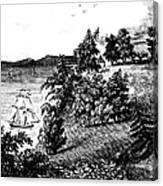 Mount Vernon, 1798 Canvas Print