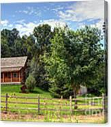 Mountain Cabin - Rural Idaho Canvas Print