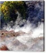 Mountain Hot Springs Canvas Print