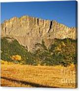 Mt Yamnuska Canvas Print