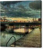 Napanee Harbour  Canvas Print