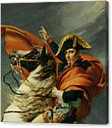 Napoleon Crossing The Alps On 20th May 1800 Canvas Print