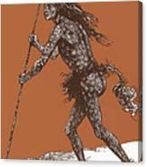 Native American Shaman Canvas Print