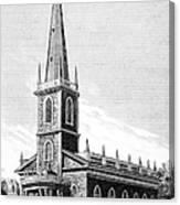 New York: Trinity Church Canvas Print