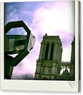 Notre Dame De Paris. France Canvas Print