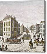 Occupied New York, 1776 Canvas Print
