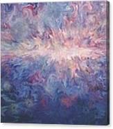 Ocean Volcano Canvas Print