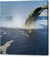 Oil Industry Pollution Canvas Print