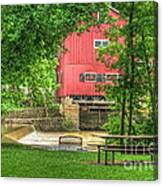 Old Indian Mill Canvas Print