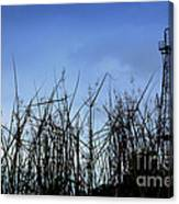 Old Oil Tower Canvas Print
