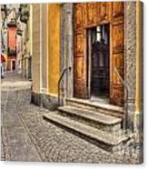 Old Stone Alley Canvas Print