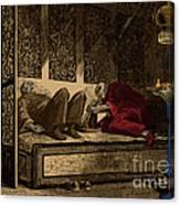 Opium Den Canvas Print