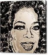 Oprah Winfrey In 2007 Canvas Print