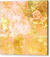 Orange Peel Canvas Print