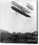 Orville Wright In Wright Flyer, 1908 Canvas Print