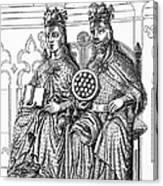 Otto I (912-973) Canvas Print