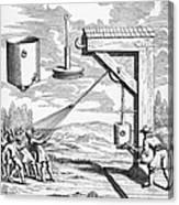 Otto Von Guericke, 1672 Canvas Print