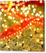 Outdoor Christmas Decorations Canvas Print