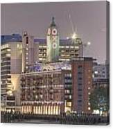 Oxo Tower Night   Canvas Print