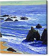 Pacific Solitude Canvas Print