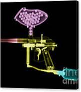 Paintball Gun Canvas Print