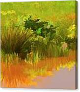 Palette Of Nature Canvas Print