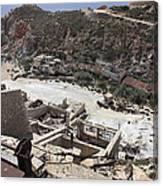 Paliorema Sulfur Mine And Processing Canvas Print