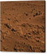 Panoramic View Of Mars Canvas Print