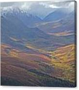 Panoramic View Of The North Klondike Canvas Print