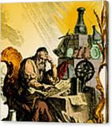 Paracelsus, Swiss Polymath Canvas Print