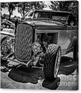 Parked Classic Canvas Print