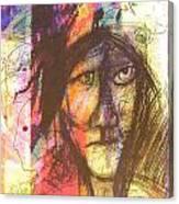 Pastel Man 12 Canvas Print