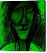 Pastel Man  9 Canvas Print