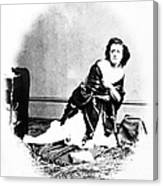 Pauline Cushman (1833-1893) Canvas Print