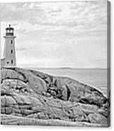Peggy's Point Lighthouse Canvas Print