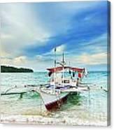 Philippine Boat Canvas Print